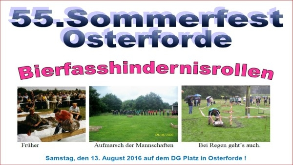55.Sommerfest Osterforde