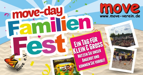 move-day Familien Fest am Samstag den 17-06-2017 in Edewecht