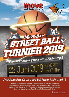Streetball Turnier - moveday 2019